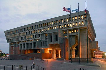 Boston City Hall - high on the list of unlovable buildings