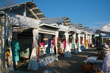 Perspicasity market at Seaside, Florida
