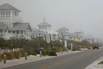 County Road 30A in Seaside, Florida