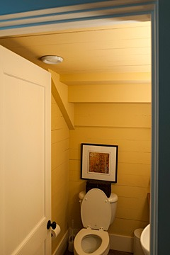 bathroom in 2001 Coastal Living Idea House, Habersham, South Carolina