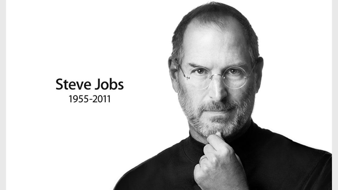 Steve Jobs death notice posted on apple.com the day he died