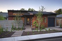 LEED for Homes award-winning Modernist house turns its back on the street