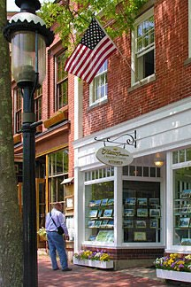 Main Street shop in Nantucket