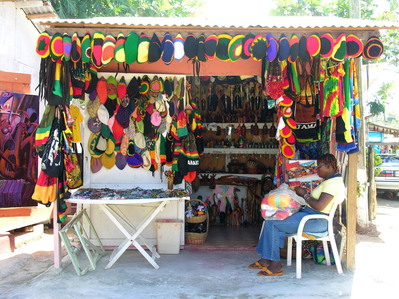 Negril craft colony 2 | the Original Green | Steve Mouzon