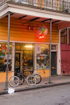 storefront on Frenchman Street in the Marigny Faubourg