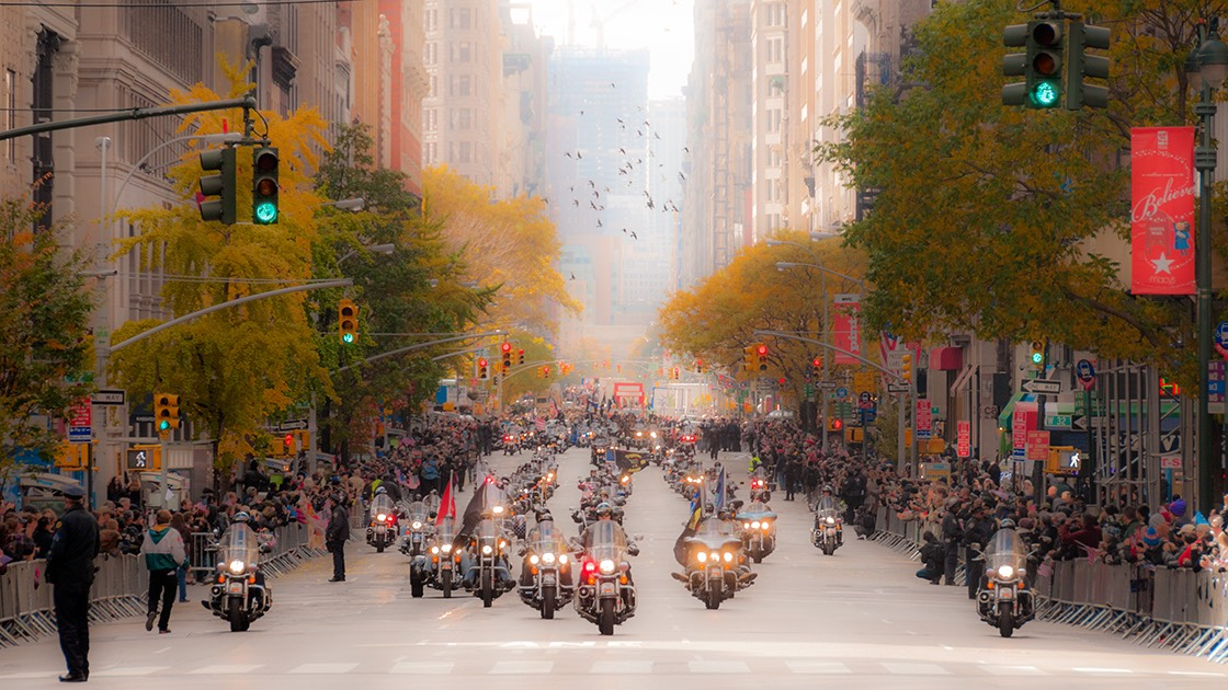 Veterans Day parade kicks off in New York City on 11/11/11