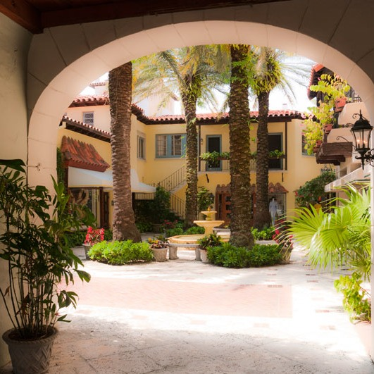 Palm Beach has some of best garden rooms in Florida