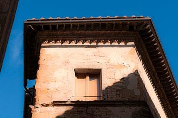 Pienza, Italy eave
