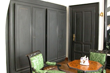 armoire in private residence designed by Jose Plecnik in Lubjana, Slovenia