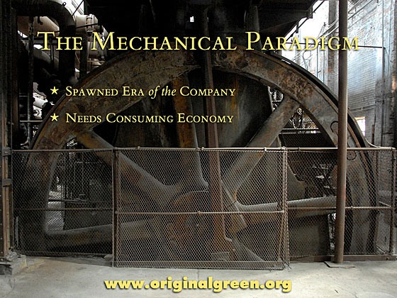 giant flywheel of industrial equipment at Schloss Furnace in Birmingham, Alabama