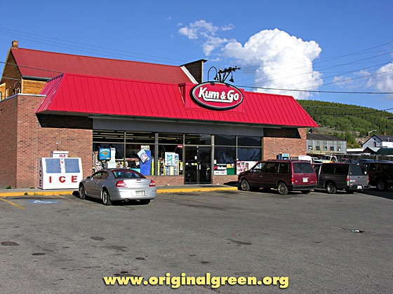 Kum & Go convenience store in Leadville, Colorado