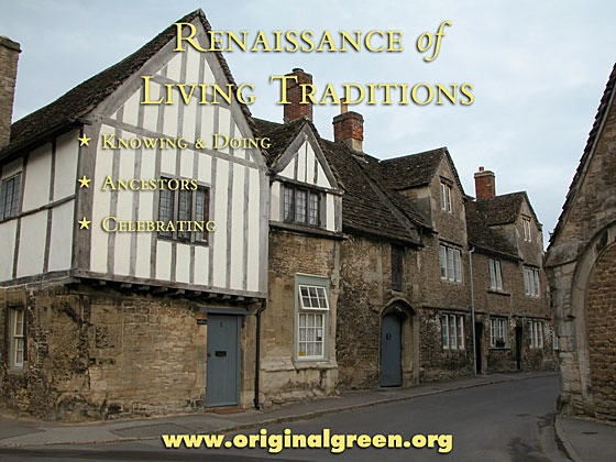 townhouses in Lacock, England