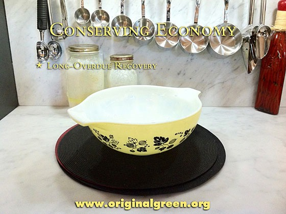 yellow mixing bowl