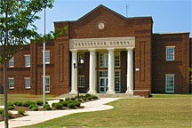 Providence School in the Village of Providence, Huntsville, Alabama is a 2-story neighborhood school