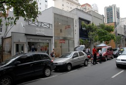 Sao Paulo, Brazil high-end shopping street