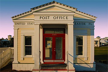 Seaside, Florida post office