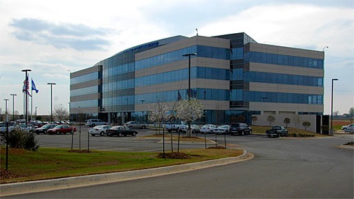 office building in Research Park in Huntsville, Alabama