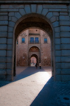 main gate of Toledo, Spain
